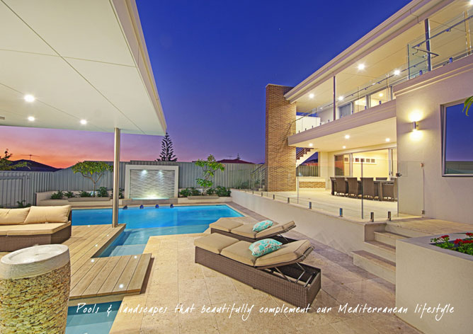 Design service creative pools perth landscaping for Creative pool design jobs