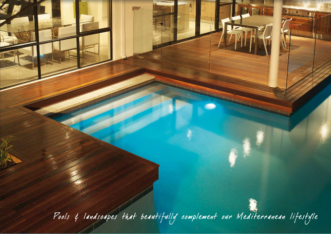 Pools spas water features creative pools perth for Pool design perth